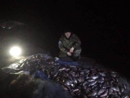 На Черкащині браконьєри масово виловлювали рибу