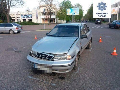 На перехресті у Черкасах зіткнулися два водія (фото)
