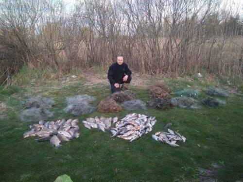 На Черкащині браконьєри наловили риби на понад 9 тисяч гривень (фото)