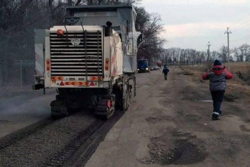 Так ремонтують дорогу до Геронимівки. Фото САДу в Черкаській області