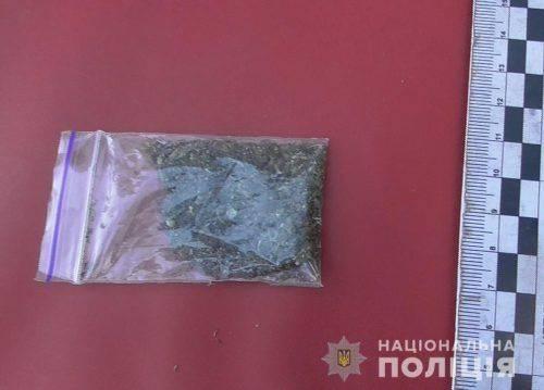 На Черкащині у чоловіка знайшли наркотики