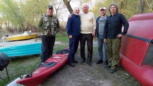 Мандрівник-екстремал зі світовим ім'ям причалив до черкаської рятувальної станції