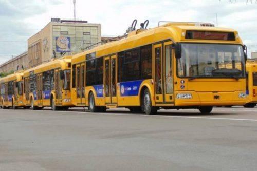У Черкасах деякі тролейбуси курсуватимуть за зміненим маршрутом