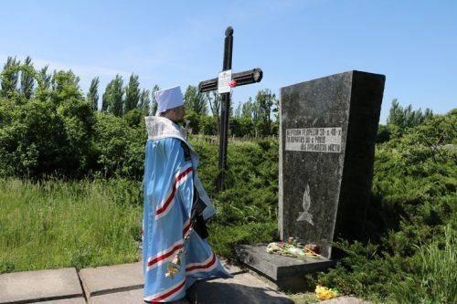 У Черкасах згадували жертв політичних репресій (фото)