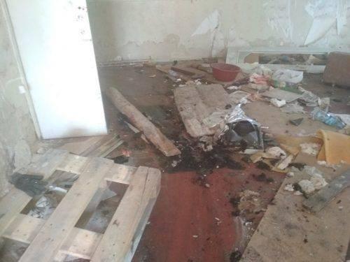 У Черкасах горіла занедбана будівля (фото)