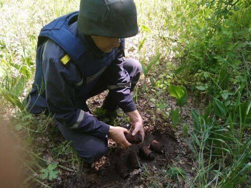 На Черкащині знайшли гранати часів війни (фото)