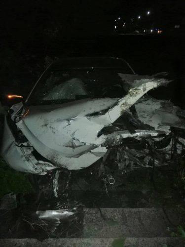 Уночі в Черкасах сталося дві ДТП є постраждалий (фото)