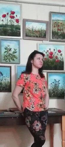 Вишиваний живопис представили черкаські майстрині (фото)