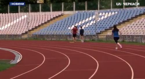 Черкаська лейтенант перемогла на змаганнях за Кубок України з легкої атлетики (відео)