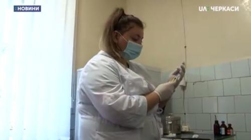 Понад 200 щеплень за квітень зробили черкащани (відео)