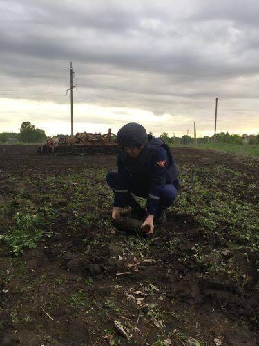 Боєприпас часів війни знайшли у Черкасах (фото)