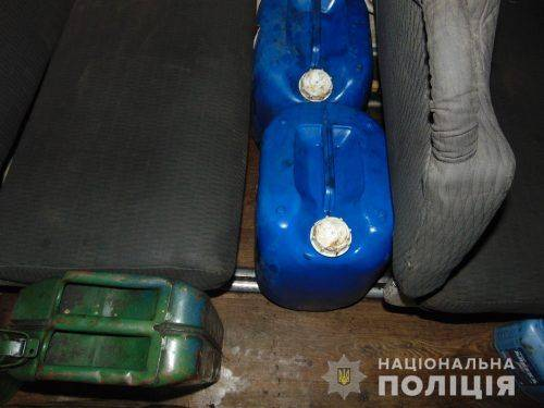 На Черкащині виявили автобуси, які перевозили майже 200 літрів дизельного пального (фото)