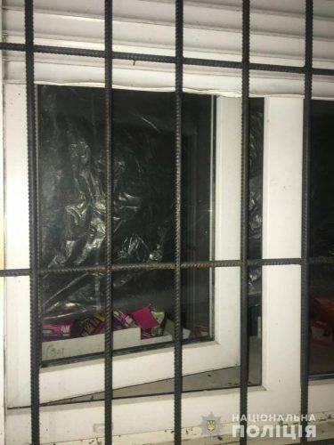 Чоловік на Черкащині намагався вдертися до магазину (фото)