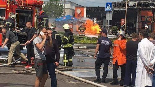 У пожежі на житомирській АЗС постраждали двоє черкащан
