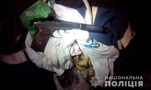 Двох черкащан, яких затримали зі зброю, підозрюють у вбивстві поліцейського (фото)