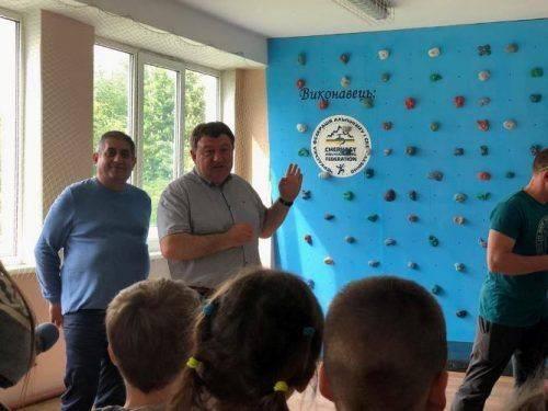 Сучасний скеледром встановили у черкаській школі