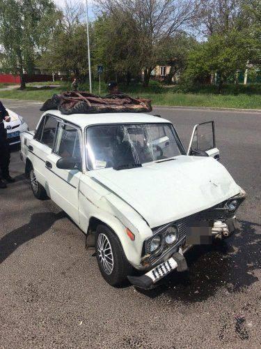 У Черкасах зіткнулися два автомобілі (фото)