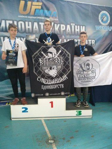 Черкащанин став призером Чемпіонату України з ММА (фото, відео)