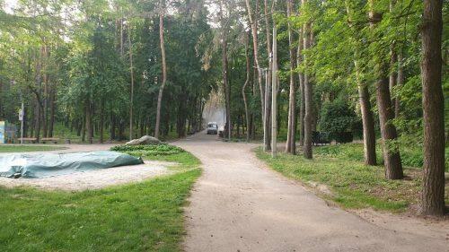 У черкаських парках почали труїти кліщів