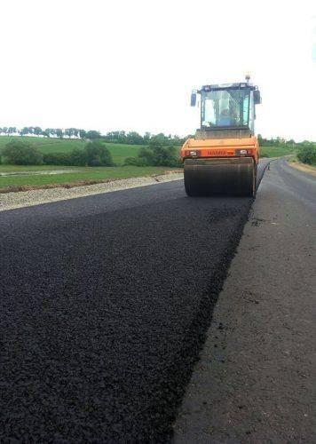 На Черкащині ремонтують об'їзну дорогу (фото, відео)