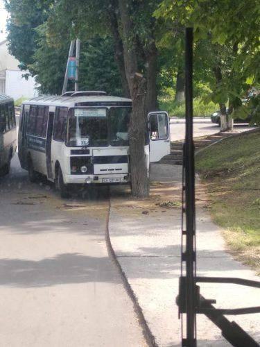 На Черкащині сталася ДТП за участі автобуса (фото)