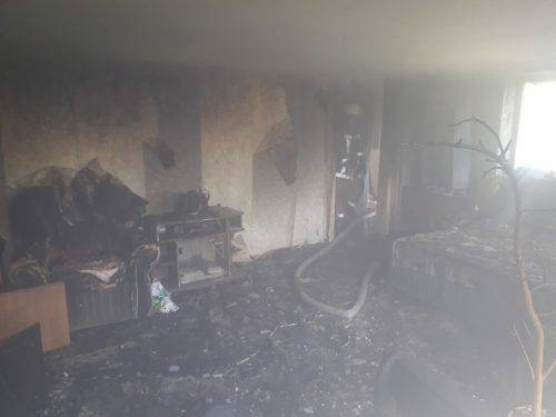 Через неправильне використання електроприладів на Черкащині сталася пожежа (фото)