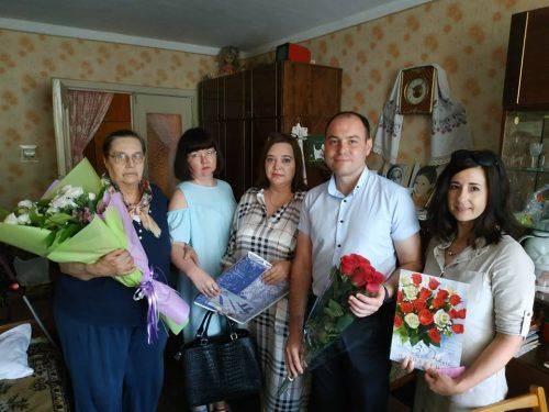 Черкащанка відзначила свій 100-річний ювілей