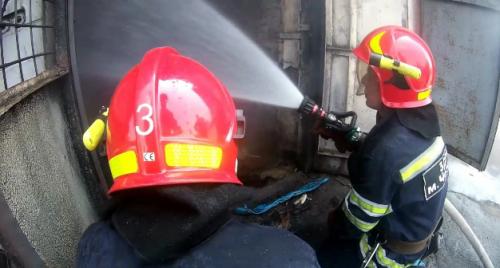 Через необережність під час куріння у Черкасах загорівся склад (фото)
