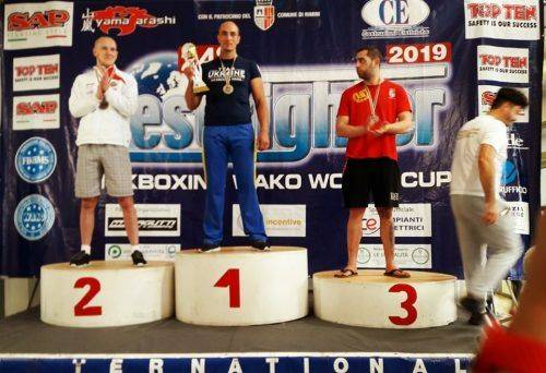 Черкащанин став золотим призером з кікбоксингу (фото)