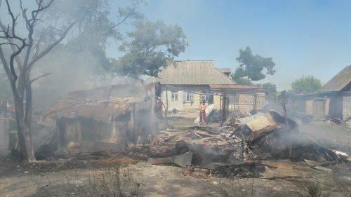 На Черкащині загорівся будинок через використання печі (фото)