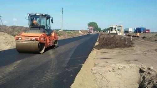 Через ремонт на міжнародній трасі Черкащини буде діяти об'їзна дорога (фото)