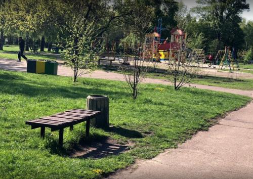 В одному з черкаських парків укладуть плиткою тротуари