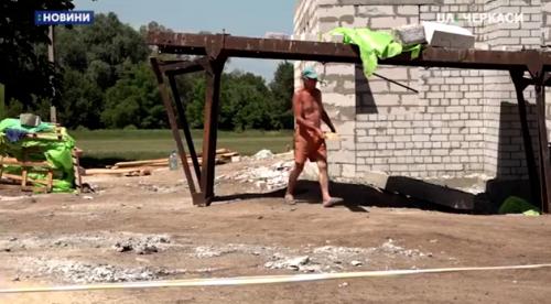 На Черкащині розпочали перекривати дах нової амбулаторії (відео)