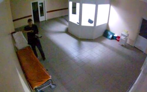 Невідомі пограбували лікарню в Черкасах (відео)