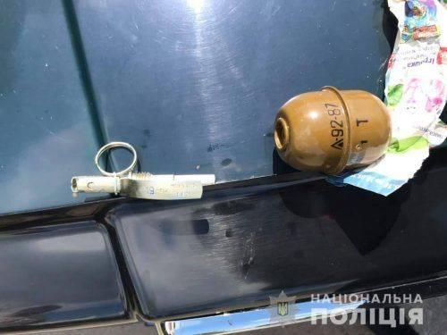 У черкащанина знайшли гранату (фото)