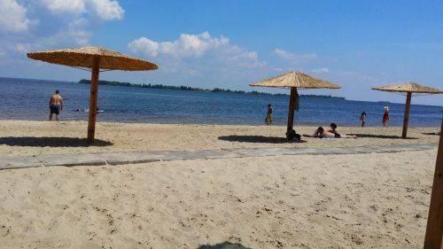 На ще одному черкаському пляжі з'явиться дитячий майданчик