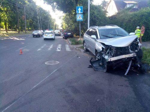 У Черкасах сталася ДТП: є постраждалі (фото)