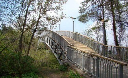 Ремонт Мосту кохання у Черкасах перебуває на завершальному етапі
