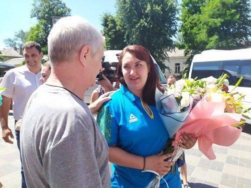 Черкаська спортсменка отримала орден княгині Ольги ІІІ ступеня