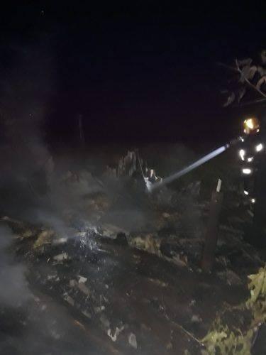 Через необережність на Черкащині загорівся будинок