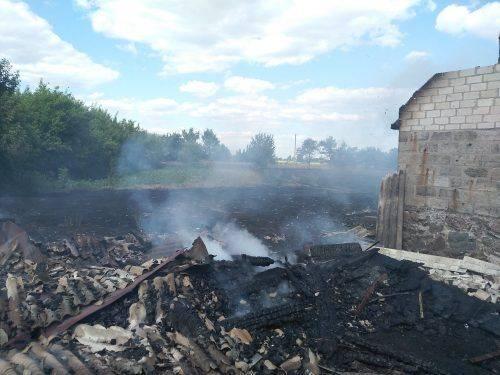 Дитячі пустощі з вогнем спричинили пожежу на Черкащині (фото)