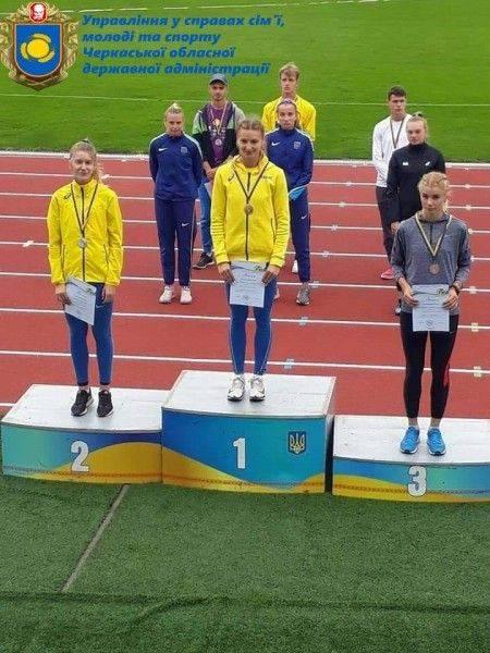 Черкащанка стала чемпіонкою України з бігу