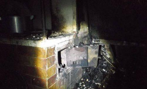 Розтопили піч: на Черкащині горіла літня кухня