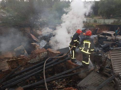 На Черкащині чоловік отримав опіки в пожежі (фото)