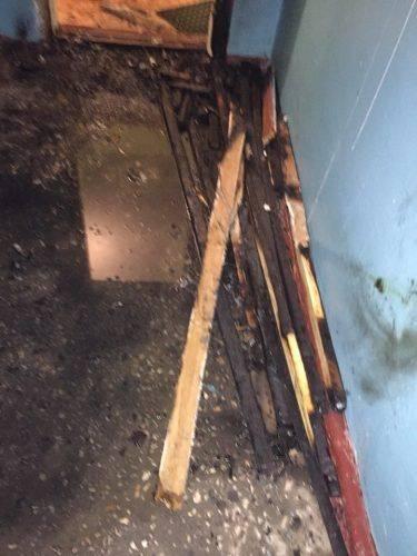 У Черкасах у багатоповерхівці виникла пожежа (фото)