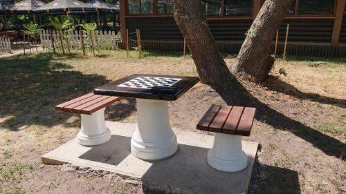 В одному з черкаських парків з'явилися шахові столи (фото)