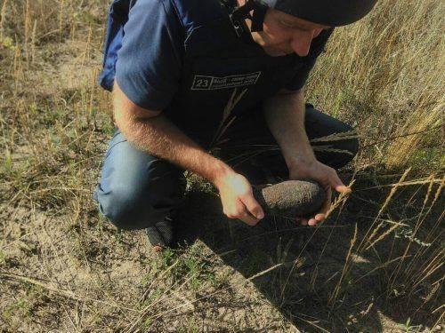 На Черкащині знайшли міну та снаряд часів війни (фото)