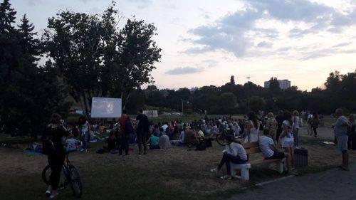 У Черкасах показували фільм під відкритим небом (фото)
