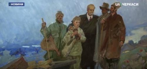 Полотно невідомого автора подарував колекціонер черкаському музею (відео)