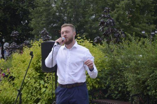 Михайло Саакашвілі підтримує одного з черкаських кандидатів у нардепи